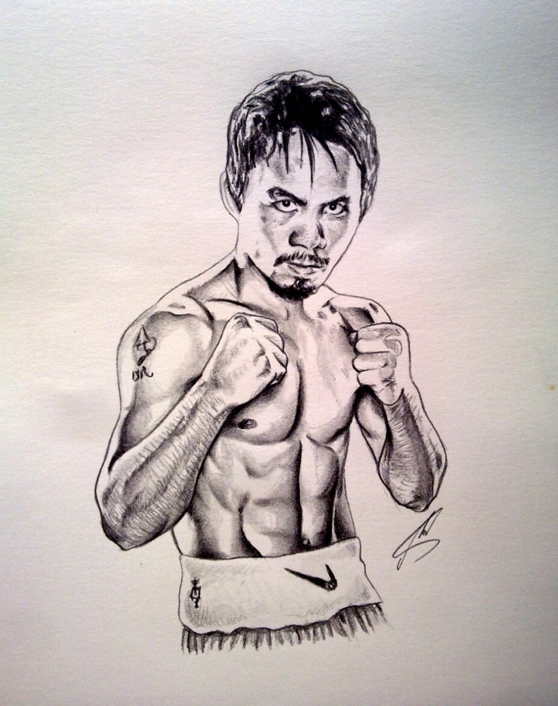 Manny Pacquiao by Esus